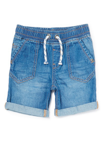 Denim Elasticated Waist Shorts (9 months-6 years)