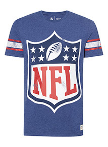 Blue 'NFL' T-shirt