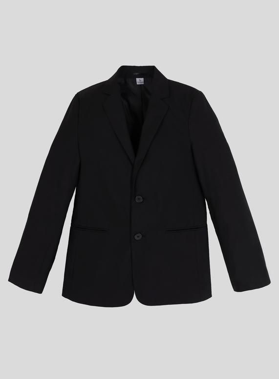 Kids Boy S Black Stain Resistant Blazer 10 16 Years Tu