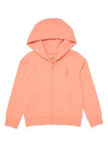 Orange Slub Hoodie (3 - 12 years)