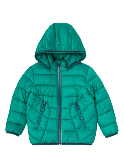 Green Puffa Jacket (9 months - 6 years)