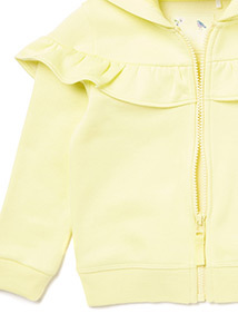 Yellow Frill Hoodie (9 months-6 years)