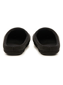 Velour Marl Mule Slippers