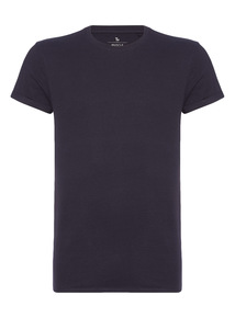 Navy Muscle Fit Tee