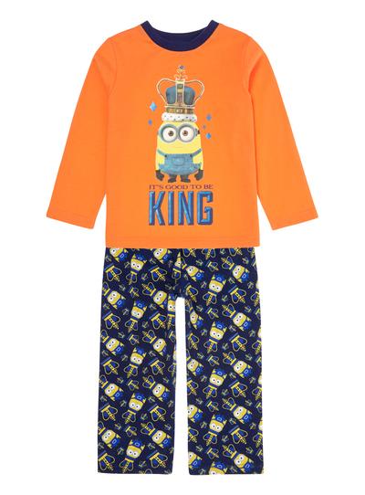 d9406353806b5d Kids Boys Multicoloured King Bob Minions Pyjama Set (2-8 years)