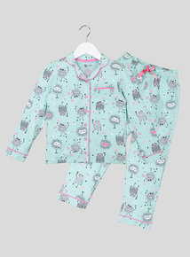 Monster Long Sleeve Jersey Pyjamas (1- 12)