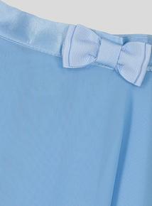Blue Ballet Wrap Skirt (2-10 years)