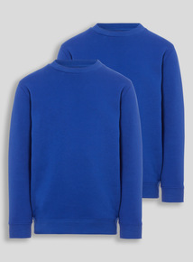 Blue Crew Sweatshirts 2 Pack (3-12 years)