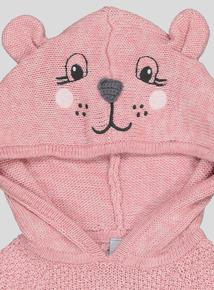 Pink Puppy Pals Cape Jumper (9 months- 6 years)