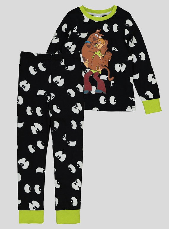 Kids Halloween Scooby Doo Pyjamas (2-11 Years)  05a62a44f