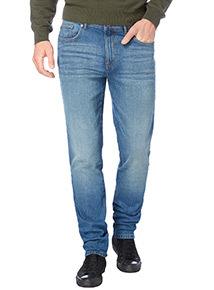 Light Wash Skinny Stretch Denim Jeans
