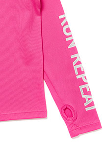 Pink Long Sleeved Base Layer Top (3-14 years)