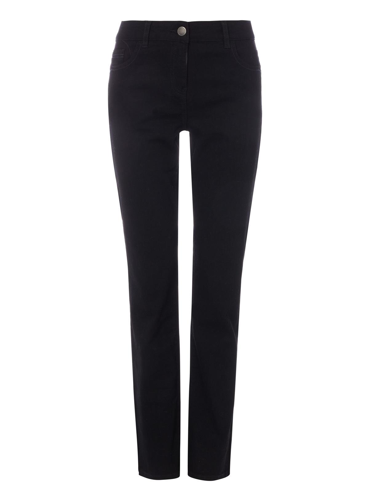Womens Black Straight Leg Jeans   Tu clothing
