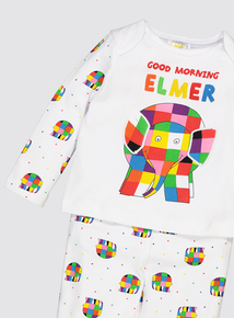 Elmer Multicoloured Pyjamas (0-18 Months)