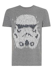 Grey Disney Star Wars T-Shirt
