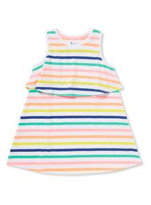 Multicoloured Stripe Sleeveless Dress (9 months-6 years)