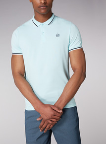 Admiral Green Tipped Polo Shirt