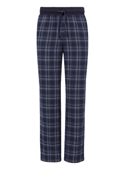Blue Brushed Flannel Trouser