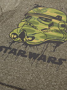 Khaki Star Wars T-Shirt (3-12 years)