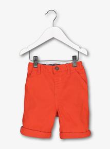 Red Chino Shorts (1-6 Years)