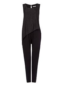 Double Layer Sparkle Jumpsuit