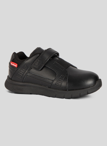 ToeZone Black Smart Trainer Shoes (8 infant - 1 child)