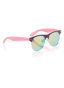 Multicoloured Mirrored Sunglasses