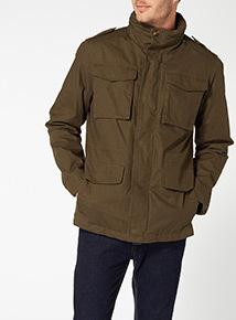 Khaki M65 Cotton Jacket