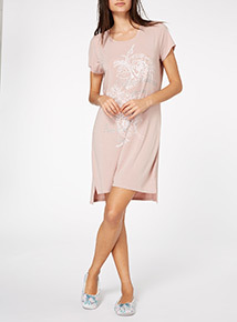Pink Glitter Nightdress