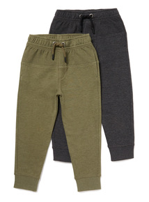 Picot Panel Joggers 2 Pack (3-14 years)