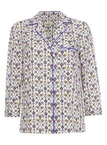 Multicoloured Floral Pyjama Shirt