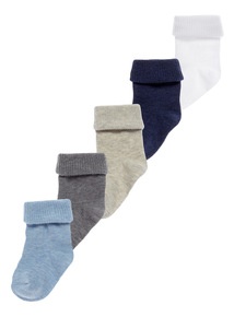 Socks 5 Pack (Newborn-24 months)