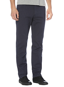 Navy Straight Stretch Twill Jeans