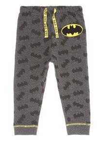 Grey Halloween Batman Joggers (9 months- 6 years)