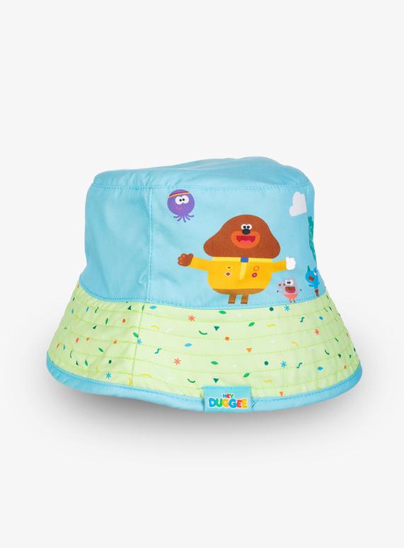 630859877f48f Kids Hey Duggee Blue Reversible Bucket Hat (1 - 9 years)