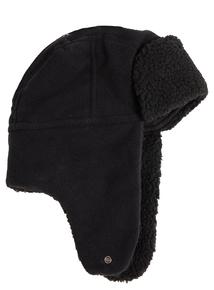 3M Thinsulate Black Fleece Trapper Hat
