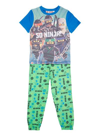 Green and Blue Lego Ninjao Pyjama Set (3-12 years)