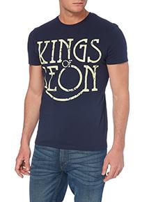 Navy Kings of Leon T-shirt