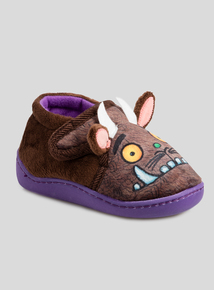 The Gruffalo Brown Slippers (Infant 4-12)