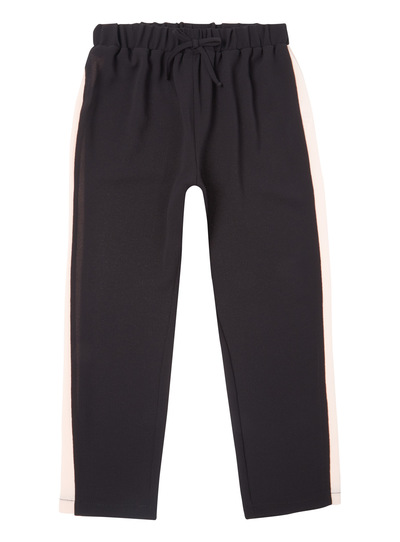 Black Crepe Sporty Trouser (3 - 14 years)