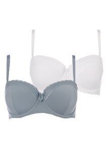 Soft Touch Balcony Bra 2 Pack