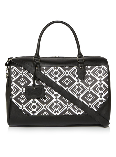 Womens Black Holdall Bag  2b65547cd9