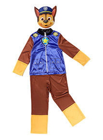 Blue Paw Patrol Chase Costume (1-8 years)