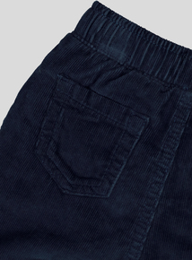 Navy Corduroy Trousers (0-24 months)