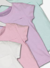 Multicoloured T-Shirts 4 Pack