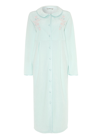 Womens Light Blue Classic Dressing Gown | Tu clothing