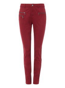 Dark Red Moose Trouser
