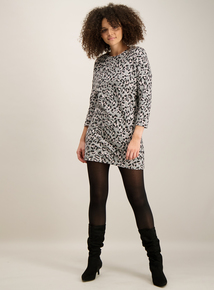 Multicoloured Animal Print Tunic