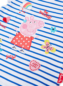 Multicoloured Pappa Pig Stripe T-Shirt (9 months-6years)