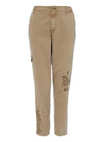 Khaki Utility Trousers